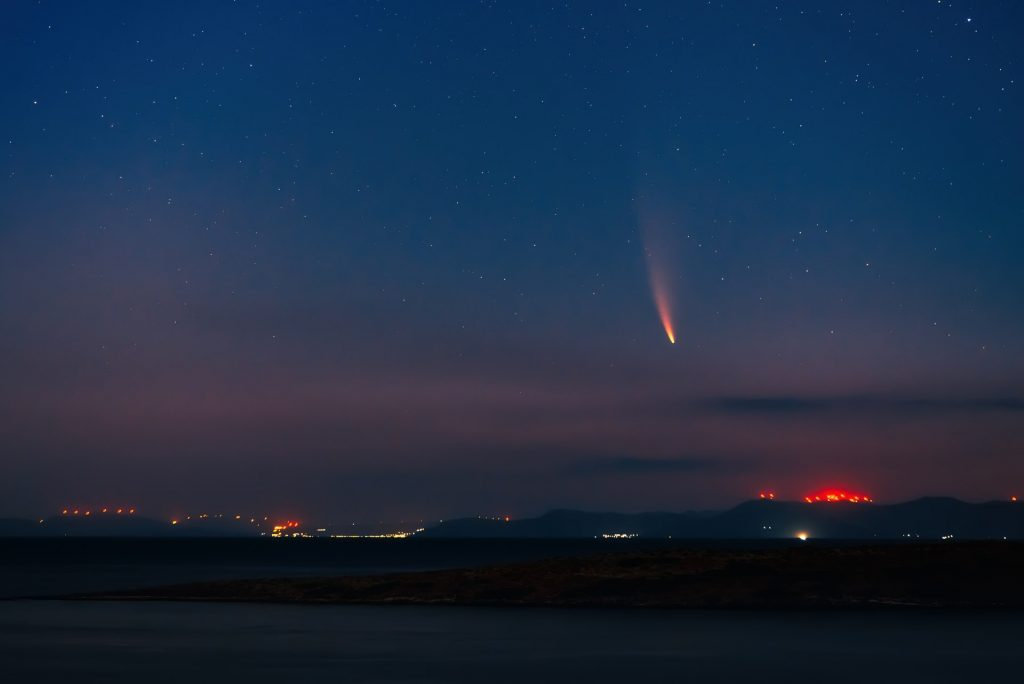 A Mysterious Fireball Lit Up Miami Skies Last Night!