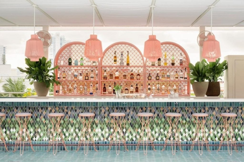 Pharrell's New Restaurant In Miami Beach Is Now Open & It's An Absolute Pink Dream