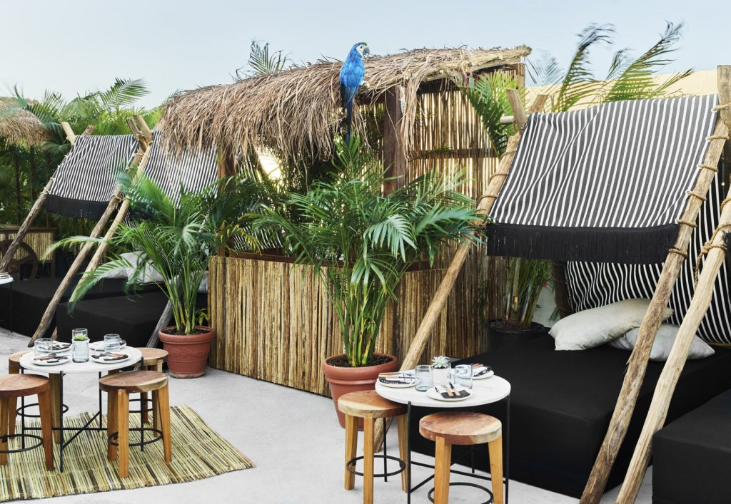 Get Transported To The Tulum Jungle At This Rooftop Garden In Miami Beach