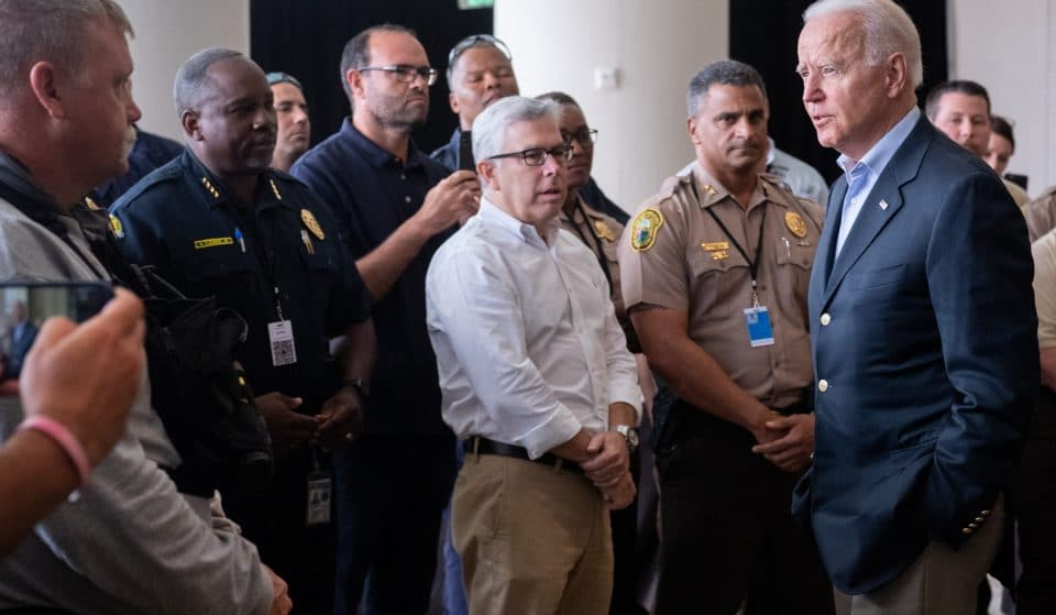 President Biden Visits Surfside, Meets With First Responders & Victims' Families