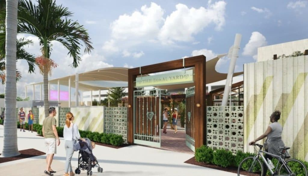 Doral Yard's New Outdoor Space Will Open This Fall