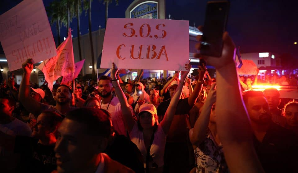 #SOSCUBA: What To Know About The Protests Taking Place In Cuba & Miami This Week