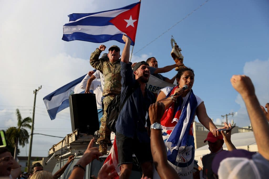 Cuban Government To Lift Sanctions On Imported Food & Other Basic Nessecities Following This Week's Protests