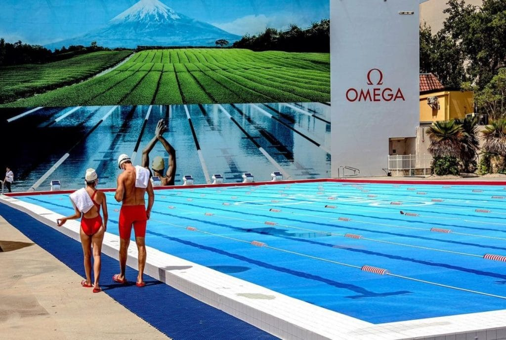 """This New Olympic """"Pool"""" Looks So Real We Almost Dived Straight Into The Pavement"""