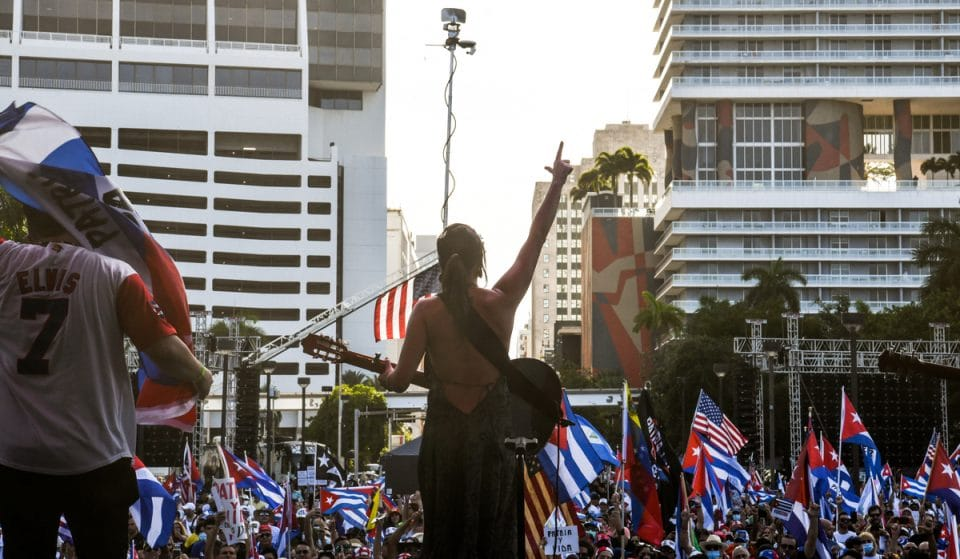 10 Stirring Images Of This Weekend's Rally For Freedom At Bayfront Park