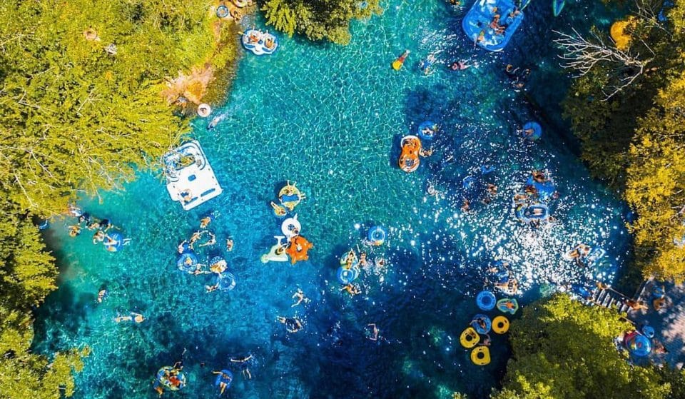These Heavenly Lazy Rivers Make For A Totally Relaxing Short Trip