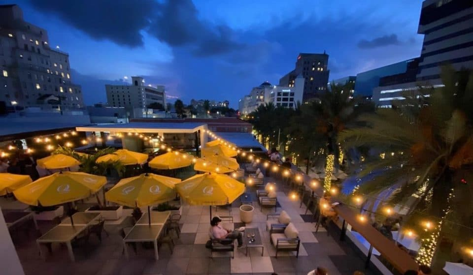 Downtown Coral Gables' First-Ever Rooftop Bar Is Now Open