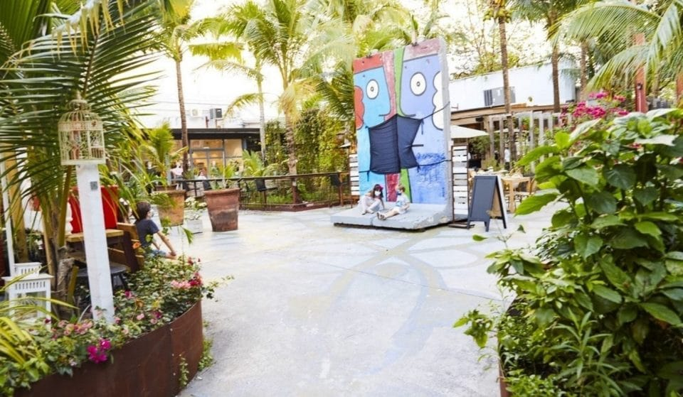 Discover Ironside, The Urban Oasis That's Home To Miami's Very Own Segment Of The Berlin Wall
