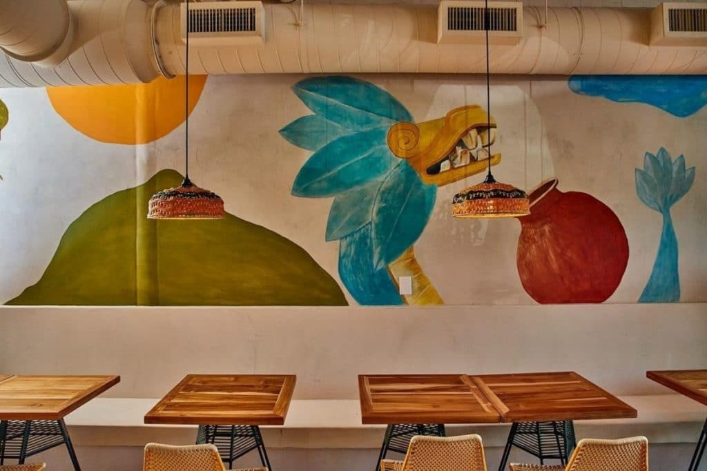 This Chic New Mexican Restaurant Offers Natural Wine & Vintage Vinyl Records