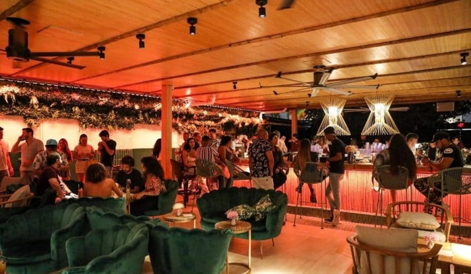 Check Out This Chic Tiki Pop-Up Bar In Wynwood