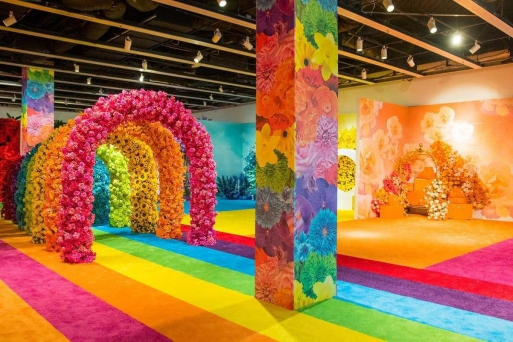 A Colorful Floral Pop-Up Has Sprung At Aventura Mall!