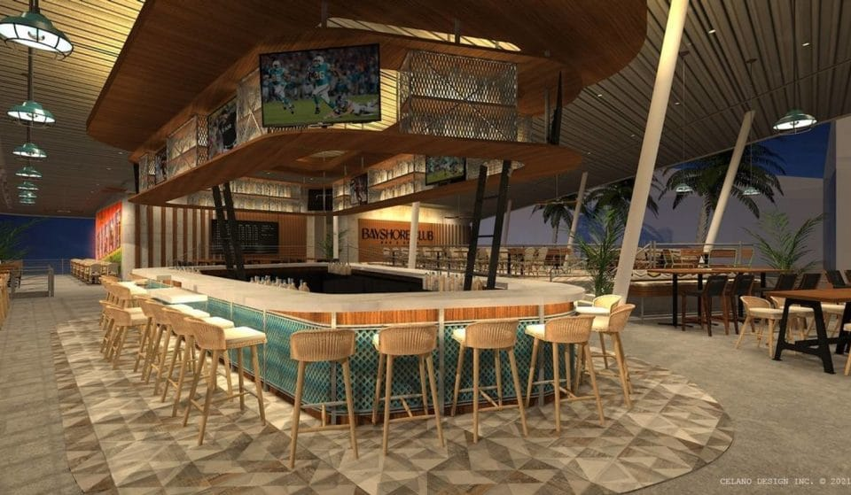 A New, Retro Waterfront Restaurant Is Coming To Coconut Grove!