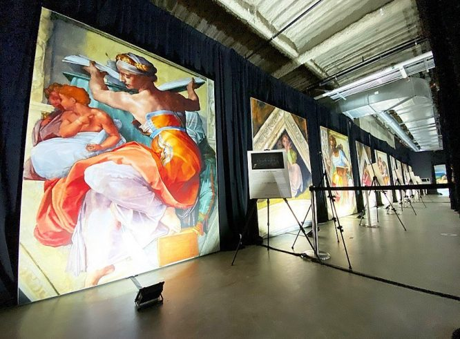 Michelangelo's Famous Sistine Chapel Is Now An Exhibit At The Mall of America