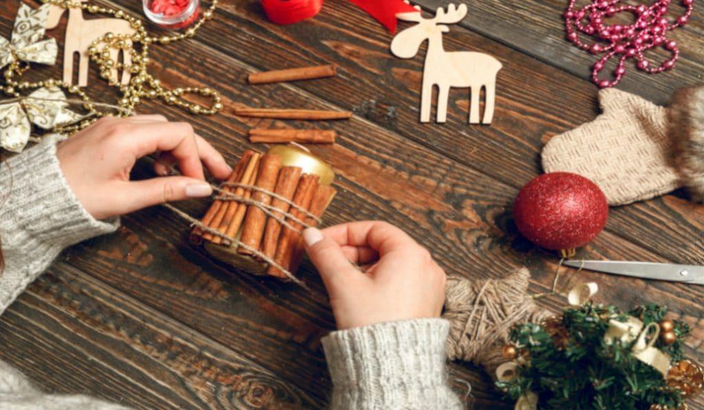5 kreative Ideen für nachhaltige, selbst gemachte Weihnachtsdeko