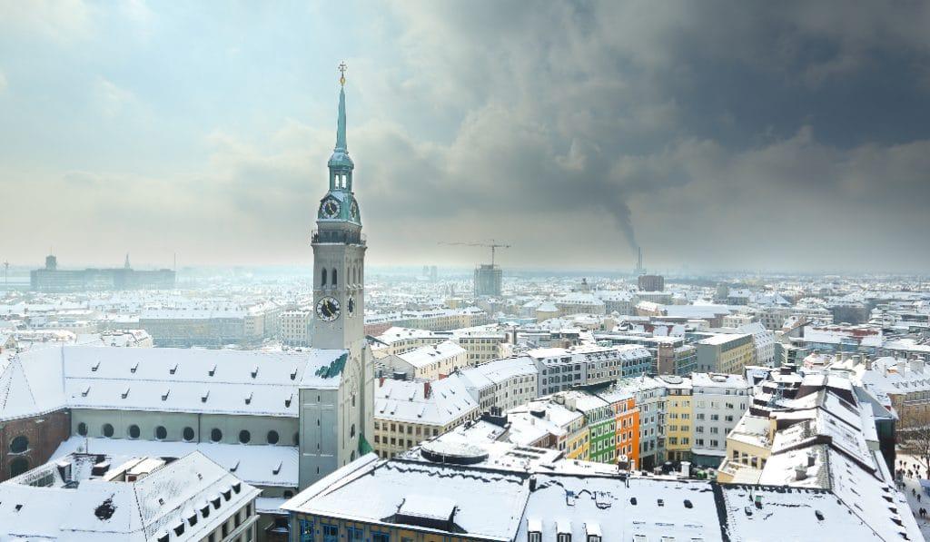 München im Schnee – unsere Highlights