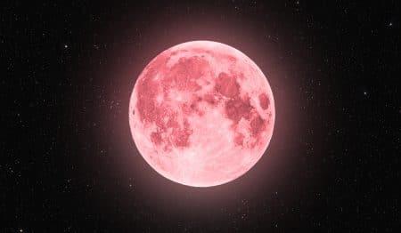 """""""Supermond"""" 2021: Am 27. April erhellt ein rosa Vollmond den nächtlichen Himmel!"""