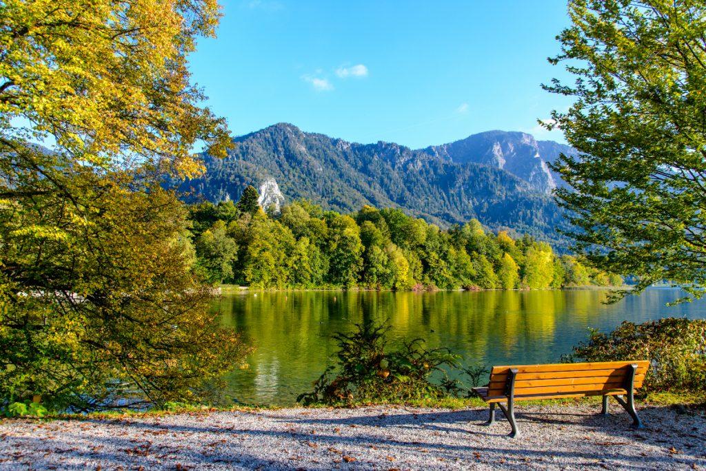 4 schöne ruhige Seen in Oberbayern