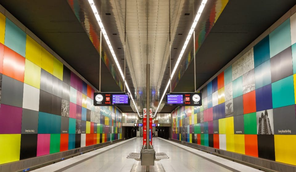 Die 4 schönsten U-Bahnhöfe Münchens