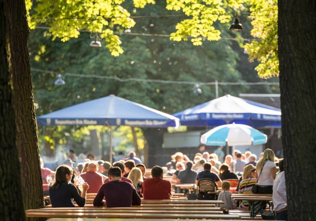 Unsere top 4 Münchner Biergärten