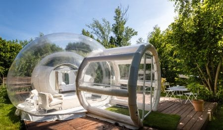 Jetzt könnt Ihr in einem transparenten Iglu in Norditalien übernachten