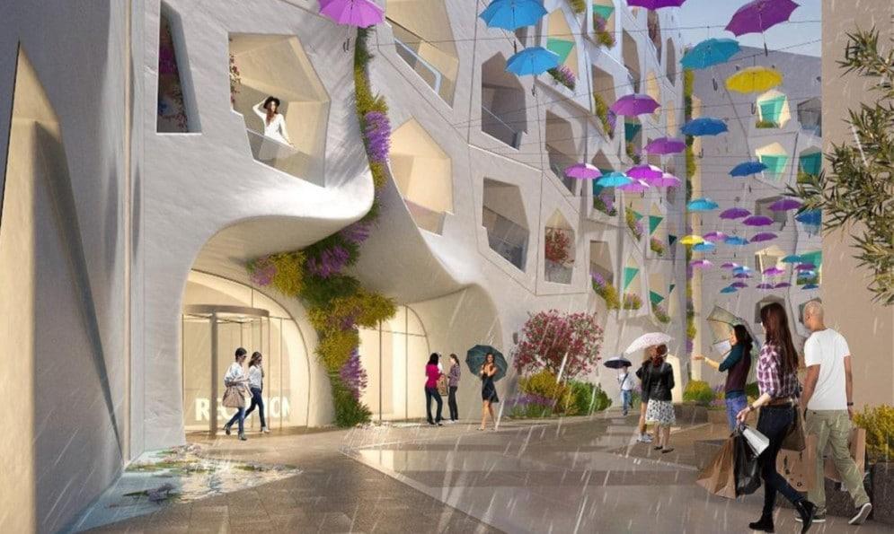 Dubai costruirà la prima strada al mondo dove piove tutto l'anno!