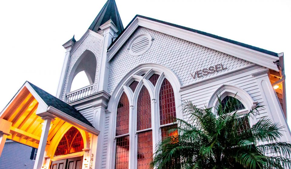 Have An Intimate Dinner In This Stunning 100-Year-Old Church ● Vessel