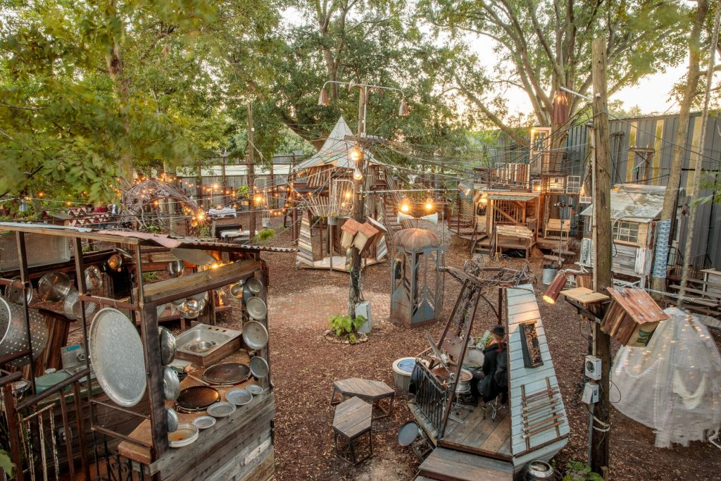 Experience New Orleans' Incredible Local Talent At This Concert Series In The Whimsical Music Box Village