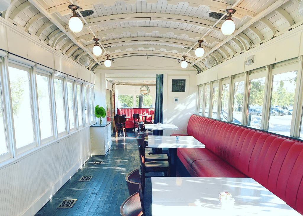 Wine And Dine In A Converted Historic Train At This Unique Restaurant Near New Orleans ⦁ LOLA