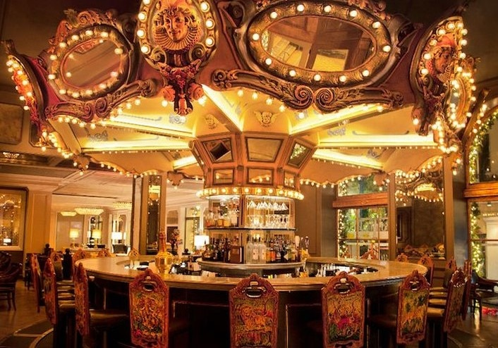 NOLA's Most Haunted Hotel Reopens Its Iconic Carousel Bar