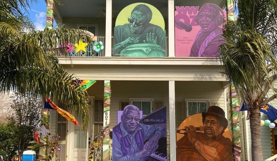 Yardi Gras House Float Commemorates NOLA's Lost Jazz Legends From 2020