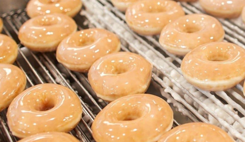 Get Free Krispy Kreme Doughnuts This Week Only!