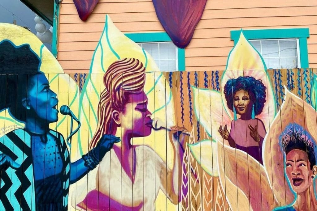 Stunning Mural Honors The Female Musicians Of New Orleans' Past And Present