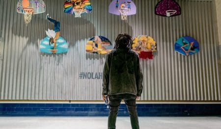 Pelicans Support Local Artists With Exciting Basketball Court Transformation Project