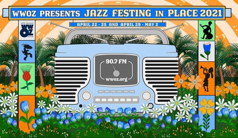 Camp Out On Your Front Porch For NOLA's Festing In Place Music Festival