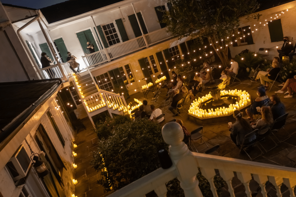 Experience Magical Candlelight Concerts In NOLA's Stunning, Open-Air Venues This Summer