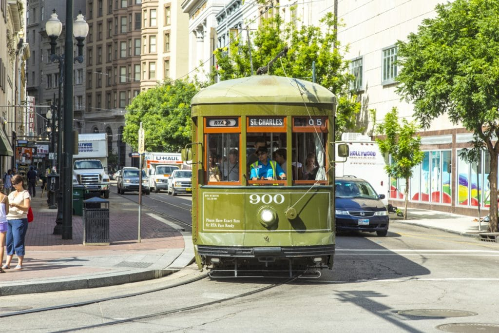 New Orleans Looks Back On St. Charles Memories Of The Oldest Street Car In The World