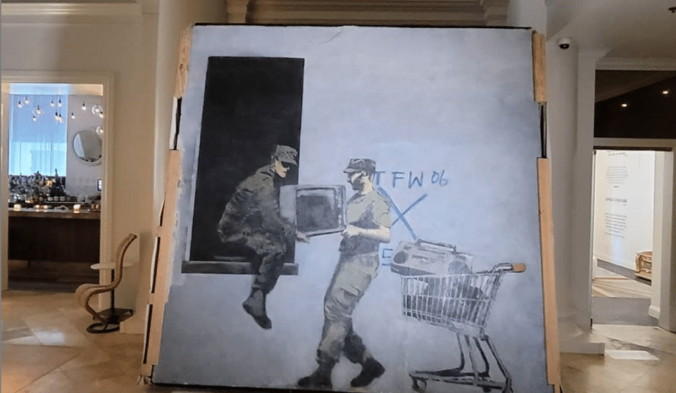 There's A Secret Banksy Mural Inside This New Orleans Boutique Hotel