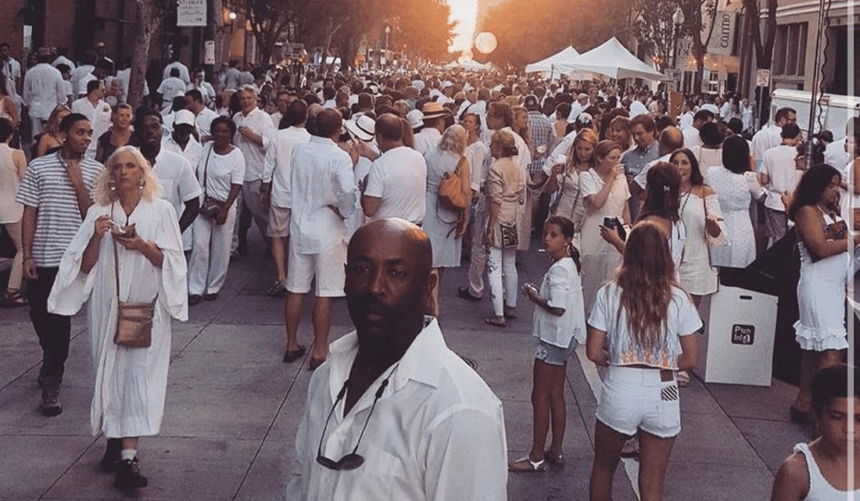 White Linen Night Will Be Held This Saturday In NOLA's Downtown Warehouse District