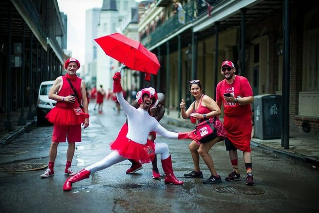 This Year's Red Dress Run Has Been Canceled Due To COVID-19