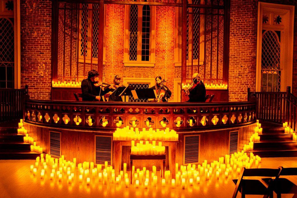candlelight string quarter concert felicity church