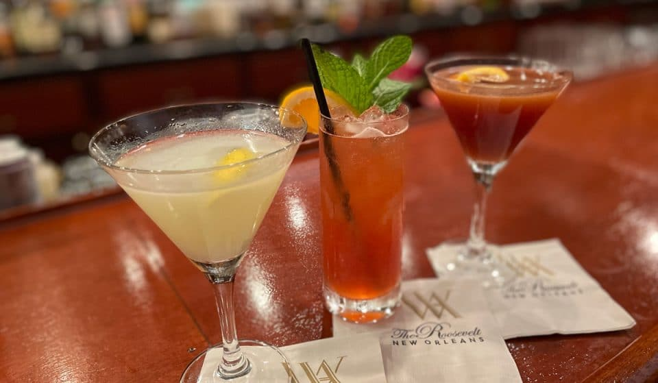 We Discovered Scary-Good Cocktails At The Roosevelt's Sazerac Bar