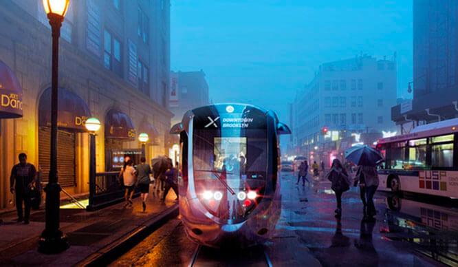 Brooklyn-Queens streetcar NYC