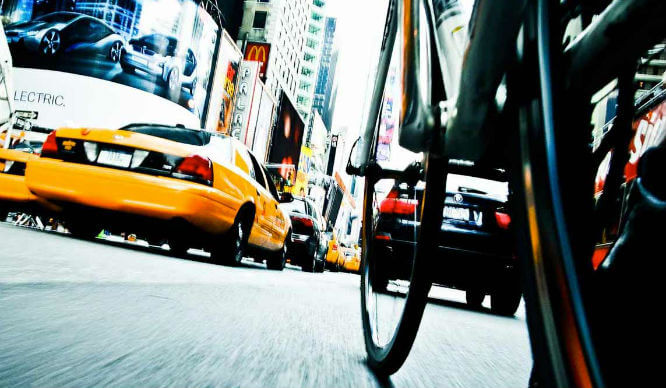 Cycling in NYC dangers