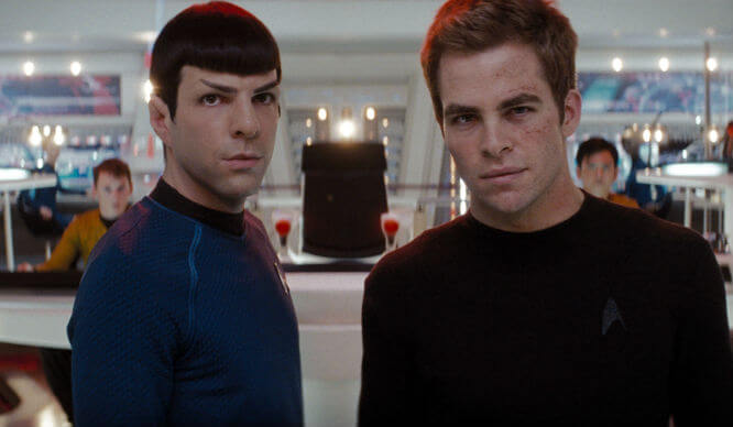 Star Trek at Intrepid Movie NYC