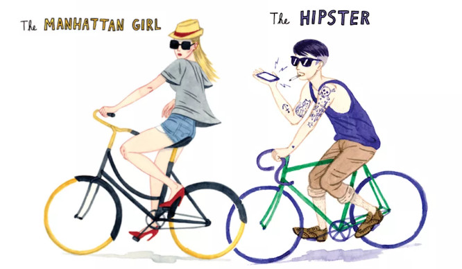 Hilarious! 12 Different Types Of Cyclist In NYC