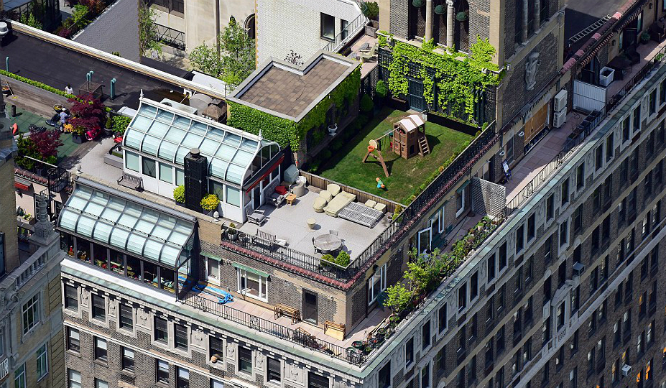 Rooftop Hidden Gardens Manhattan