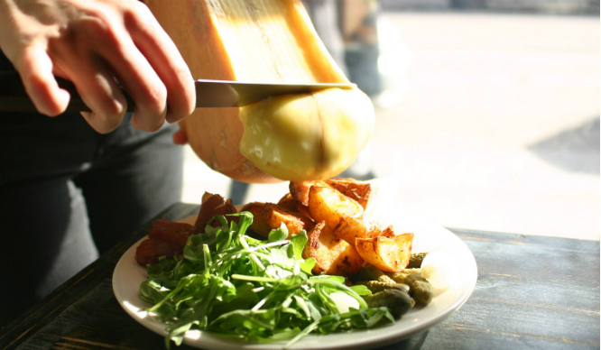 Raclette Cheese Restaurant NYC