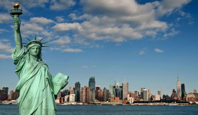 Majestic Statue of Liberty