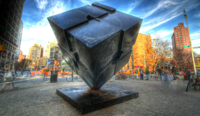Celebrate The Astor Cube's Birthday With An Epic Light-show And Outdoor Disco