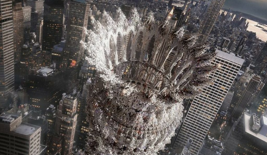 Check Out This Design For A Disturbing Apocalyptic Skyscraper In NYC